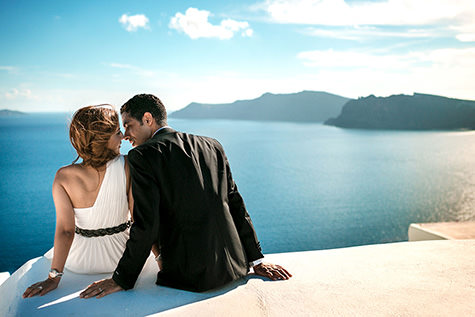 Pre Wedding Session in Santorini
